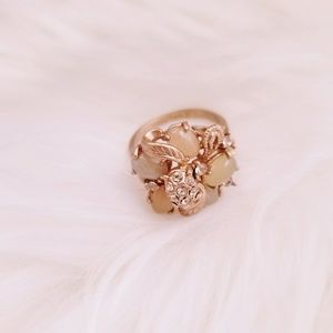Rose Gold Ring Jewelmint